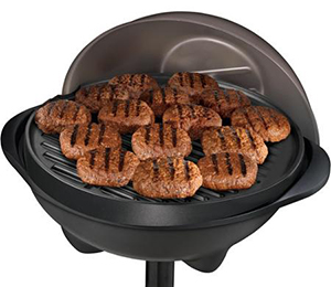 George Foreman GGR50B Indoor Outdoor Grill Space